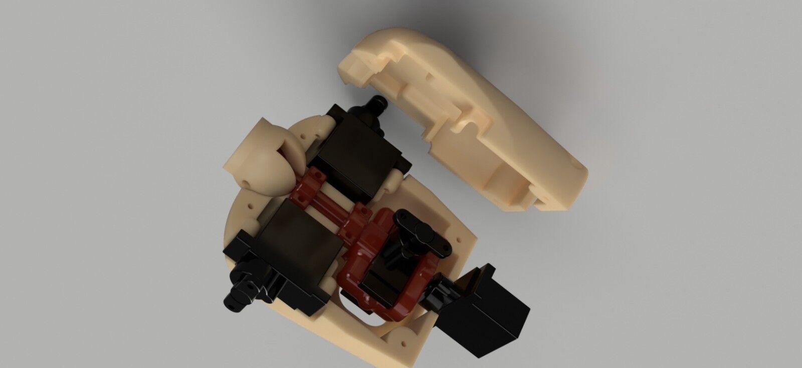 1 3 .5 SCALA ANIMATRONIC Kit Di Conversione-JETS serbatoi barca Elicottero Heli