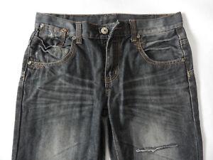 Skate-Schuhe gut kaufen neueste Kollektion Details zu Jeans Hose für Jungen Gr. 170, Falten eingewischt, Ziersteppung  an den Taschen.