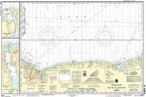 NOAA Chart Port Bay to Long Pond;Port Bay Harbor; Irondequoit Bay 25th Edition
