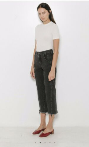 Rachel Comey Trigger Pants Black Denim Size 6