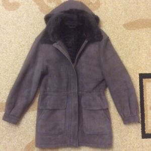 Coat Sheepskin 3 Size M Women's 4 Winter New Ew1KZUqXU