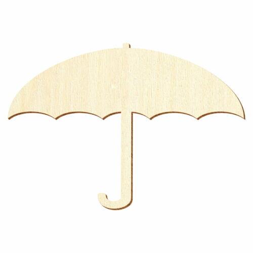 Deko Basteln 5-50cm Holz Regenschirm