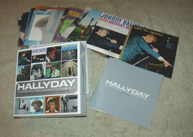 Johnny Hallyday L'essentiel Des Albums Studio - Volume 1 - 13 CDS - Near Mint