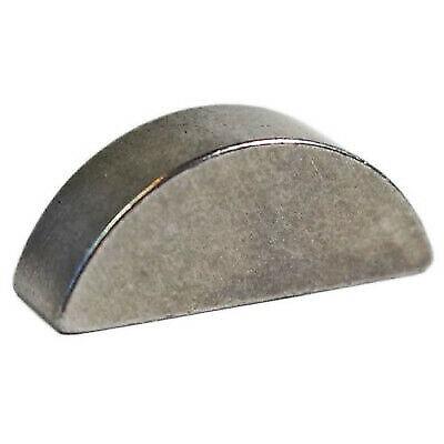 Stahl Scheibenfeder halbrund 4 x 9 mm DIN 6888