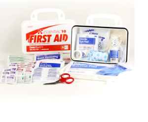 Certified Direct Safety Class A ANSI First Aid Kit Essential 10 Type 3 15 Person