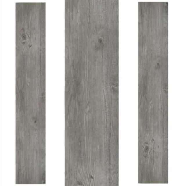Vinyl Plank Flooring Self Adhesive Peel And Stick Bathroom Gray Grey