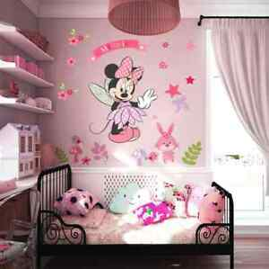 Minnie Maus Wandtattoo Wandsticker XXL 88cm x 68cm Mickey mouse ...