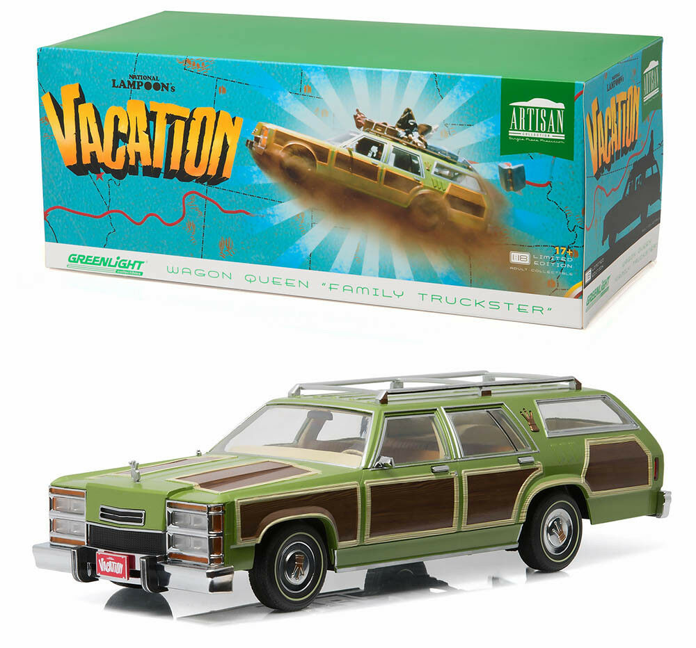 Wagon Queen family Truckster National editaste's Vacation 1 18 verdeLight 19013