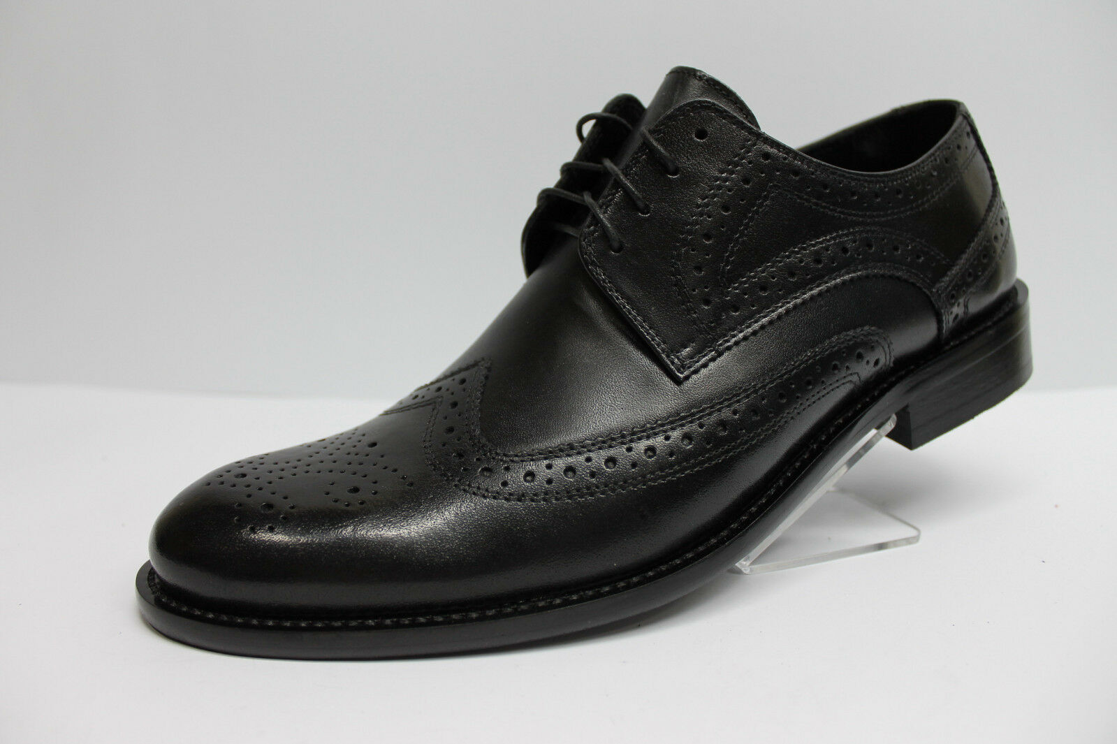 Business-Schuhe    Budapester Style Echtleder Gr.40, 41,42, 43 schwarz NEU bfa901