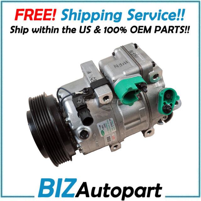 AC Compressor 4 Cylinder VIN 1 8th DIGIT MPI Fits 11-13 Sorento 2106096