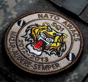 KANDAHAR PRO-TEAM NATO AWACS SQ1 MAZAR-AUDERE-SEMPER vêlkrö PATCH (2012-2013)