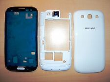 Para Samsung Galaxy S3 i9300 Carcasa Frente tapa trasera Marco central