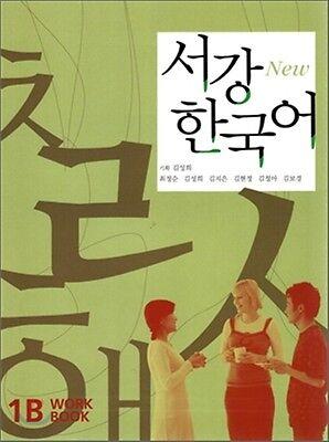 Sogang Korean 1B Workbook w/ CD Korean language Free Ship