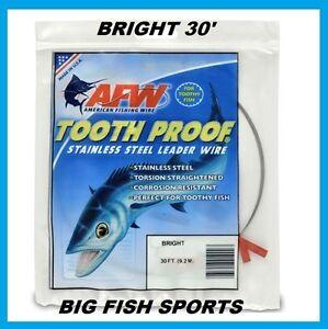 AFW-Tooth-Proof-en-acier-inoxydable-Chef-un-seul-brin-Fil-30-039-long-couleur-vive