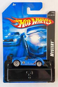 2007 HOTWHEELS MISTERO AUTO Riley & Scott MK III Blu 18/24 MOLTO RARA!