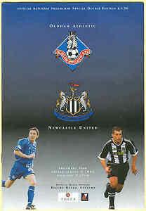 Double-Programme-Oldham-Athletic-v-Newcastle-Sheffield-Weds-Pre-Season-2002