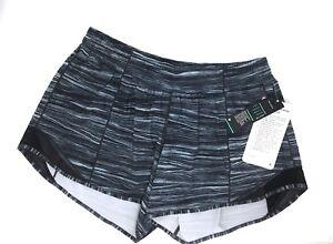 e7bb1567a6 Details about Lululemon Hotty hot II LONG short size 10 Women' s Shorts  Medium M Large L Black