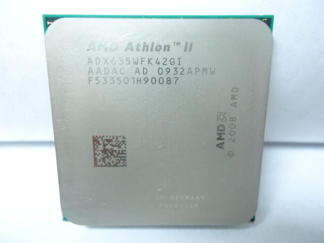 Amd Adx635wfk42g Athlon Ii X4 635 2 9ghz Quad Corei Processor Ebay