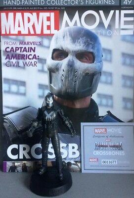 FleißIg Marvel Movie Collection Crossbones Figurine (captain America) Eaglemoss Neu