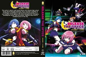 ANIME-DVD-Release-The-Spyce-1-12End-English-sub-amp-All-region-FREE-SHIPPING-SKU3