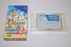 Metal Max 2 Japan Nintendo Super Famicom sfc game