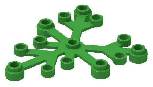 ☀️NEW LEGO 10x Green Plant 6 x 5 Leaf Leaves Tree CITY Forest parts pieces lot