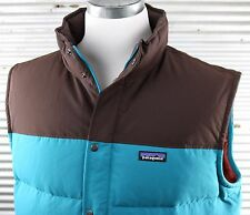 NWT Patagonia Bivy Down Vest Jacket Mens sz XXL 2XL teal insulated 27586 $179
