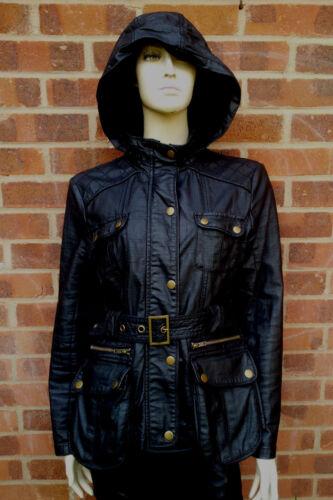 Eu zwarte capuchon maat en riem 40 Uk Volgende wasjas met 12 fwdPazqz