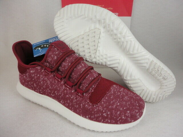 Adidas Tubular Shadow,  C Burgundy   CRY White, BY3571, Size 13