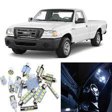 7pcs White Interior LED Light Package Kit for Ford Ranger 1998-2011