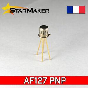 AF127 Transistor PNP germanium - 20V 10mA TO72