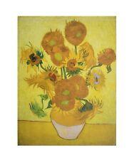 van Gogh Sonnenblumen Poster Kunstdruck Bild 70x60cm