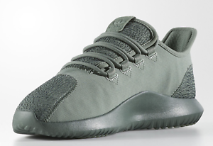 NEW ADIDAS ORIGINALS TUBULAR SHADOW TRACE GREEN MEN'S 8 SNEAKERS BY3573