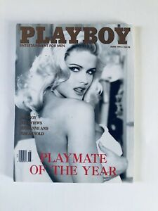 Playboy-Magazine-June-1993-Back-Issues-Vintage-with-Centerfold-Intact
