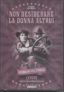 Non desiderare la donna altrui (1918) DVD