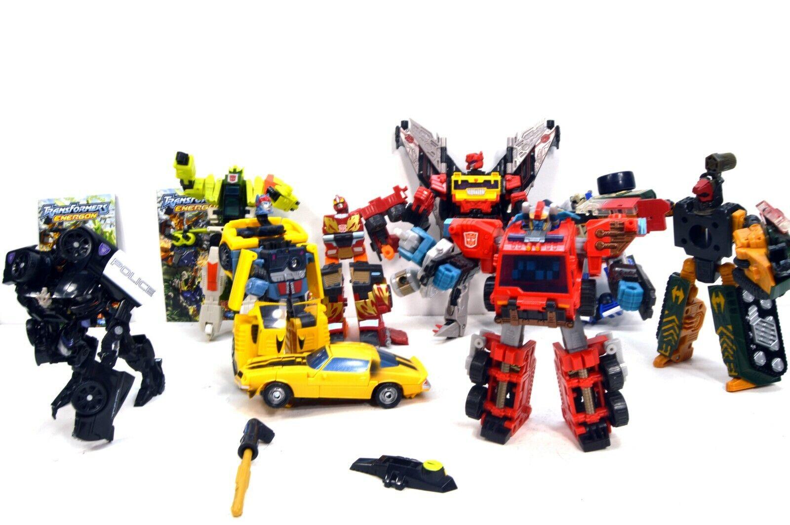 Transformers Giocattolo LOTTO  2006 HasbropiùBumblebee, Polizia, Pompieri, Elicottero
