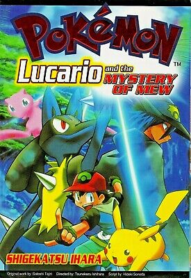Pokemon Lucario And The Mystery Of Mew Manga Paperback Used Ebay