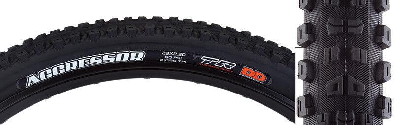 Maxxis Aggressor Dc  2ply  DD  Tr Tire 29x2.3 Nero Pieghevoli  120