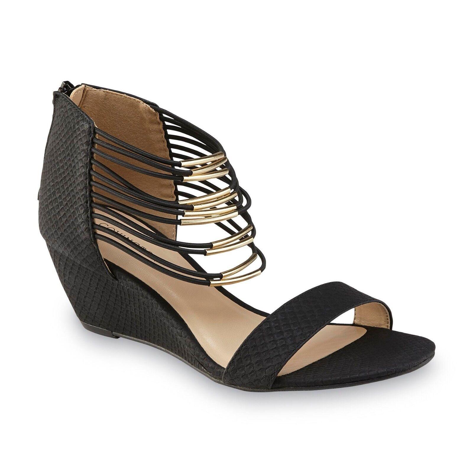 New Womens Covington Kira Wedge 173Q Sandal Style 14712 Black 173Q Wedge tr 73159c