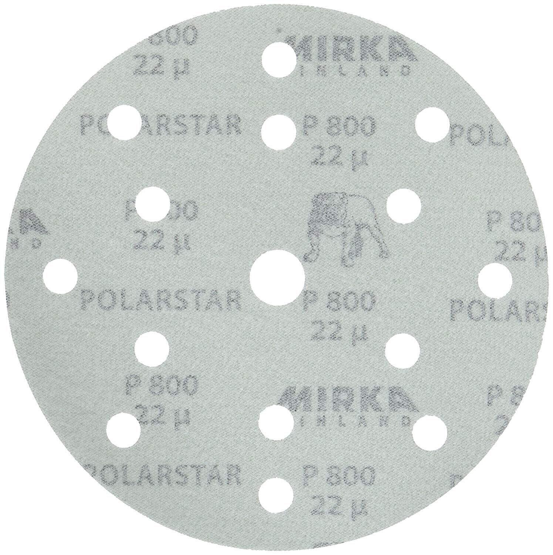 8000 RPM Non-Woven Finishing Disc 3 in Disc Dia Aluminum Oxide 66 Units