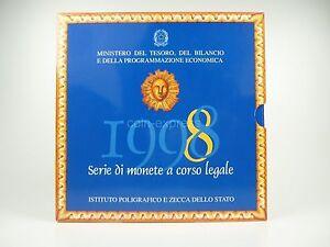 *** ITALIEN Lire KMS 1998 BU Kursmünzensatz vor Euro Coin Set Italy Italia Lira - Eichendorf, Deutschland - *** ITALIEN Lire KMS 1998 BU Kursmünzensatz vor Euro Coin Set Italy Italia Lira - Eichendorf, Deutschland