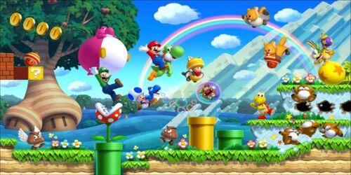 Stickers chambre d/'enfant tête de lit Mario et ses amis réf 8476