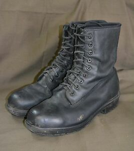 Used-Canadian-military-combat-boots-size-9-Steel-Toe-Z-28