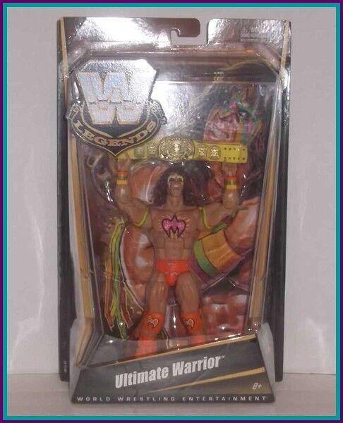 MATTEL WWE LEGENDS - ULTIMATE WARRIOR - SERIES 6 - Classic Superstars Elite