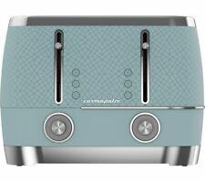 BEKO Cosmopolis TAM8402T 4-Slice Toaster - Blue - Currys