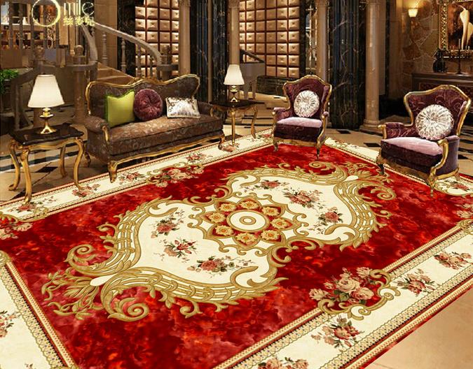 3D Carpet Fototapeten Wandbild Fototapete Tapete Familie DE Lemon