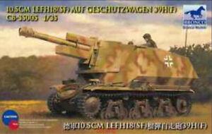 Bronco-1-35-35005-10-5cm-LeFH18-SF-Geschutzwagen-39H-Hot