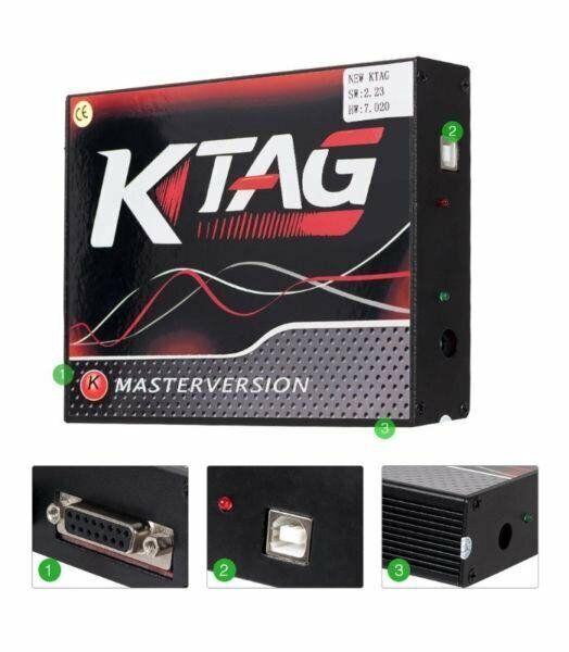 KTAG Master version ECU Programmer, latest firmware v7.020