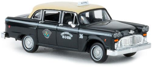 "Brekina 58927 Checker Cab /""Dallas/"" US Taxi HO NEU"
