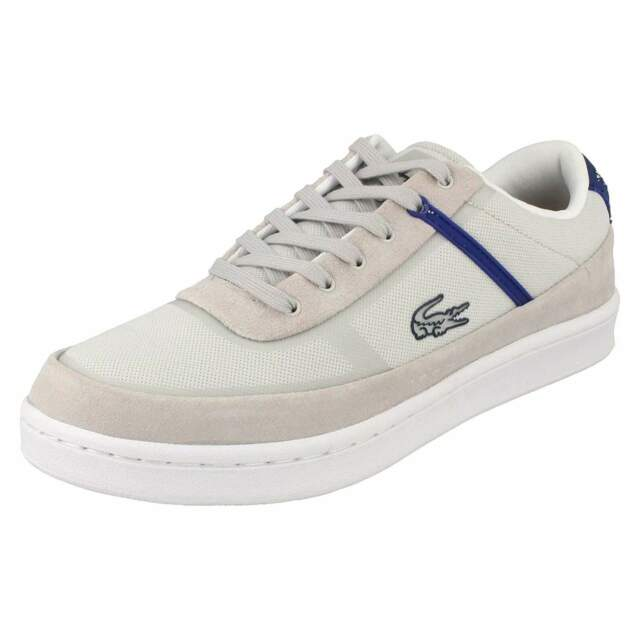 Mens Lacoste Lace up Trainers Court